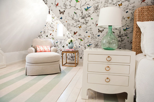 Transitional Bedroom by Sarah Wittenbraker Interiors