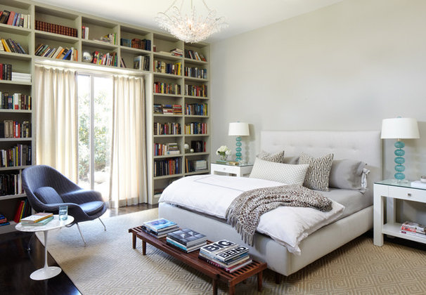 Midcentury Bedroom by Weiss Architecture Inc
