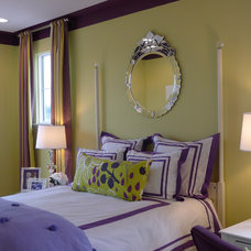 Contemporary Bedroom by Carlyn And Company Interiors + Design