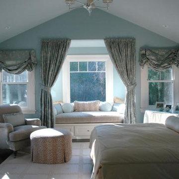Ross Shingle Style Victorian Farmhouse Master Bed