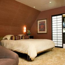 Asian Bedroom by Ashley Roi Jenkins Design, LLC