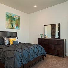 Contemporary Bedroom by Seven Custom Homes