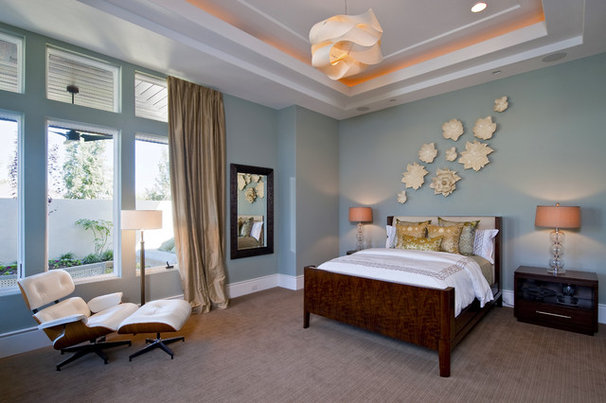 Contemporary Bedroom by PPDS