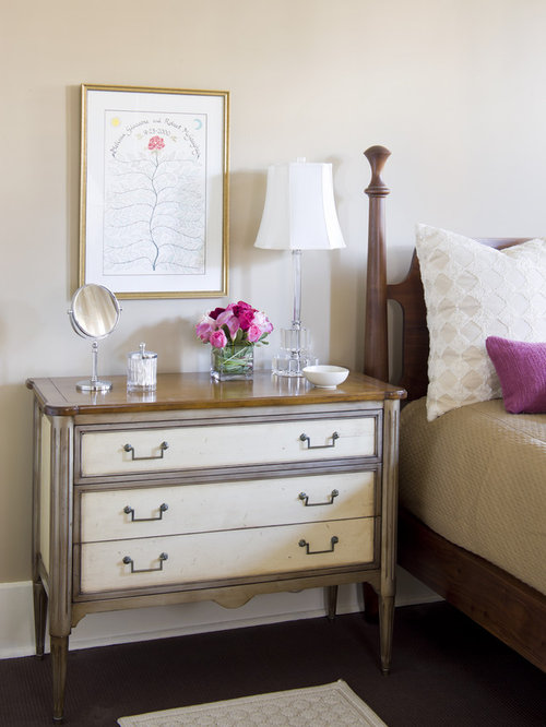 Dresser as nightstand houzz How tall is a nightstand