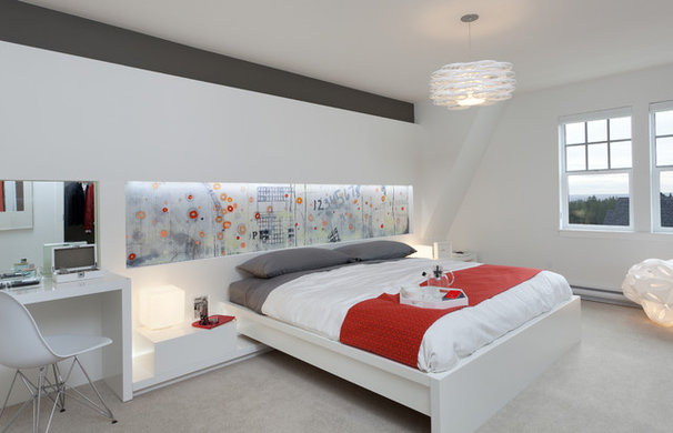 Contemporary Bedroom by Portico Design Group