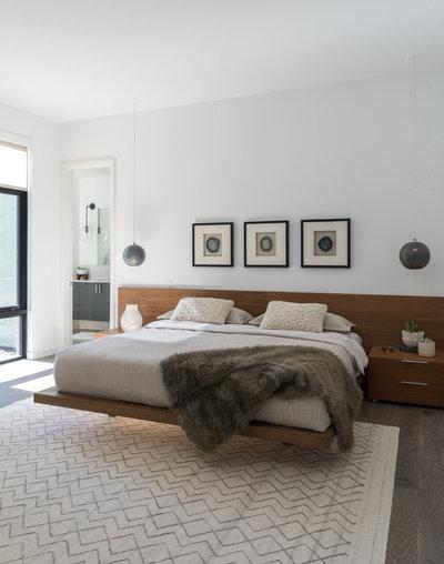 Modern Bedroom By Icf Custom Homes
