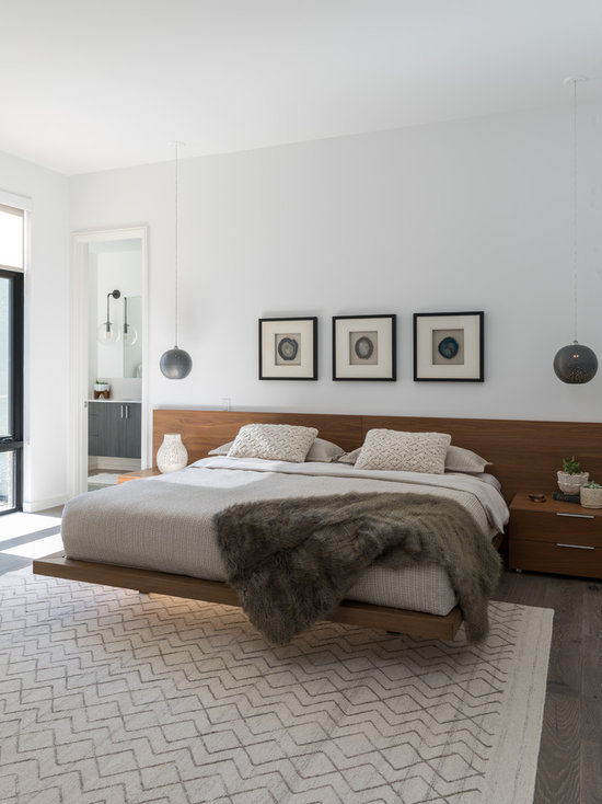 modern master bedroom design ideas, remodels & photos | houzz
