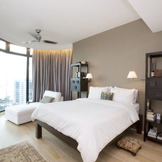 Contemporary Bedroom by Clifton Leung Design Workshop - CLDW.com.hk