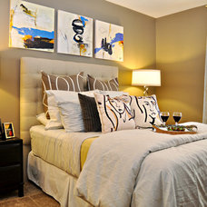 Contemporary Bedroom by Purdy Designs LLC