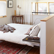 Contemporary Bedroom by WEST ELEVATION ARCHITECTS INC