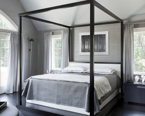 Black four poster bed home design ideas pictures remodel for Black four poster beds