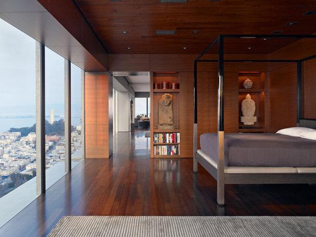 Asian Bedroom by Zack de Vito Architecture + Construction
