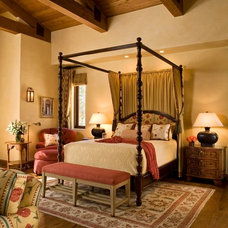 Rustic Bedroom by Andrea Bartholick Pace Interior Design