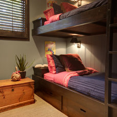 Rustic Bedroom by Avalon Interiors