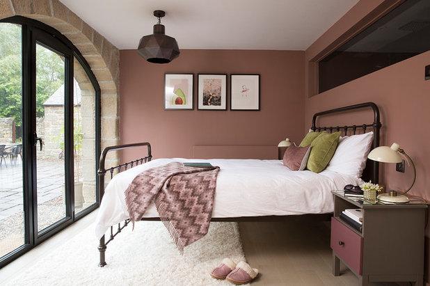 Rustikal Schlafzimmer by Cathy Dean Interior Design
