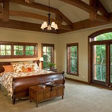 Rustic Bedroom by Copper Creek, LLC