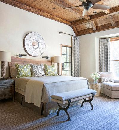 Рустика Спальня Rustic Bedroom