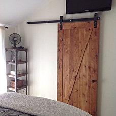 Rustic Bedroom by Rustica Hardware