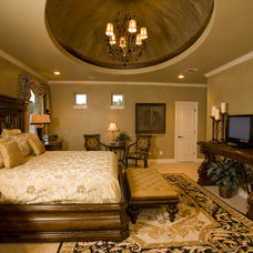 Mediterranean Bedroom by Stadler Custom Homes