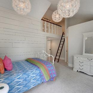 Rustic Bedroom with Loft