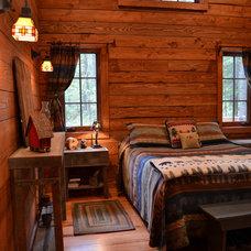 Rustic Bedroom by Julia Williams, ASID