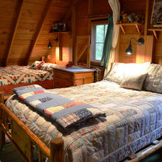 Rustic Bedroom by Julia Williams, ASID
