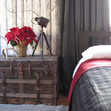 Eclectic Bedroom by Christina Marie Interiors