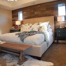 Eclectic Bedroom by Judith Balis Interiors