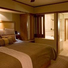 Eclectic Bedroom by nicole helene designs