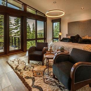 Rustic Contemporary Ski Lodge