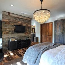 Rustic Bedroom by JRP Design & Remodel