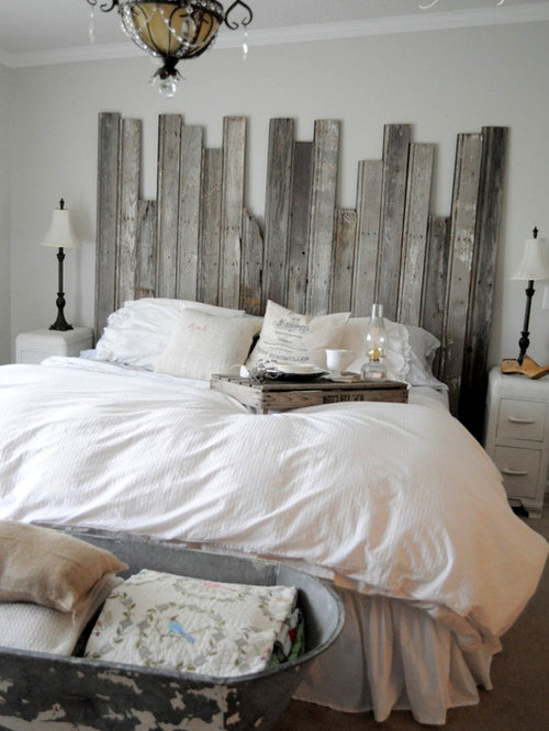Rustic Headboard Home Design Ideas Pictures Remodel And