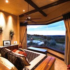 Mediterranean Bedroom by Zbranek & Holt Custom Homes