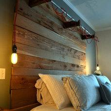 Industrial Bedroom by Erwin Renovation LLC