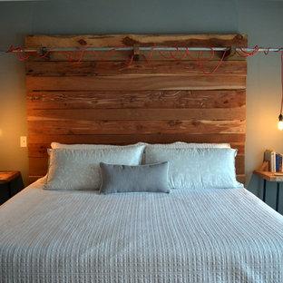 Rustic Industrial Bedroom
