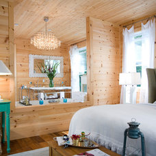 Rustic Bedroom by KellyBaron