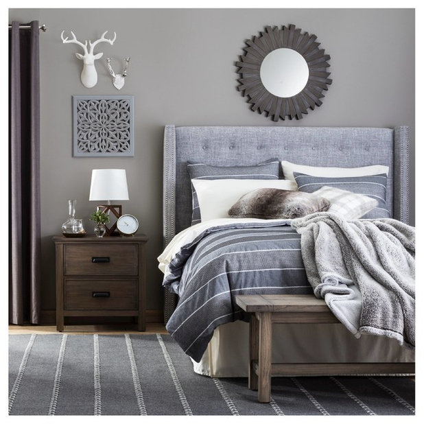 Rustic Bedroom by Target Home