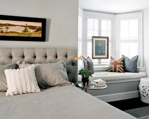 Transitional Bedroom by Evolve Residential