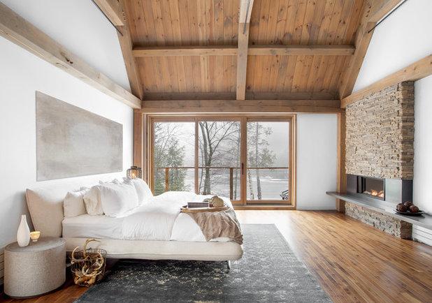 コンテンポラリー ベッドルーム by catlin stothers design
