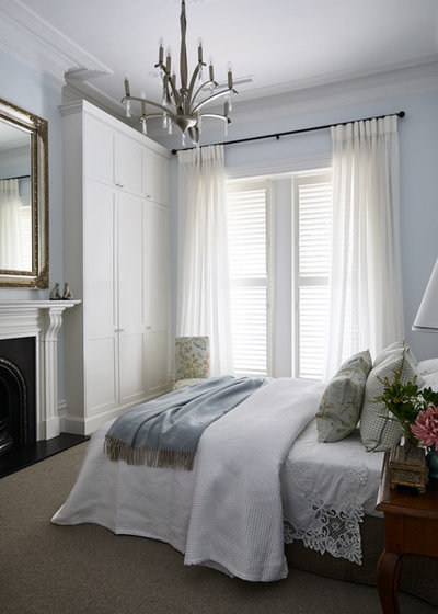 Traditional Bedroom by Melissa Balzan Design