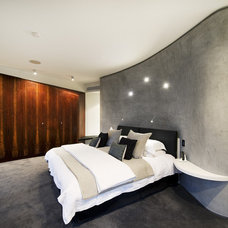 Contemporary Bedroom by Matthew Mallett Photography