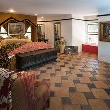 Mediterranean Bedroom by Peter D'Aprix Photography