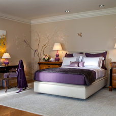 Traditional Bedroom by Eric J. Schmidt Interiors
