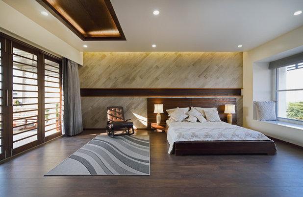 Contemporary Bedroom by STUDIO YAMINI