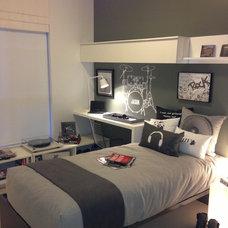 Contemporary Bedroom by Portico Design Group