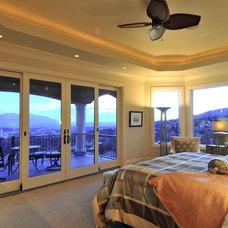 Mediterranean Bedroom by CD Construction, Inc.