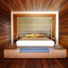 Contemporary Bedroom by Bates Masi Architects LLC