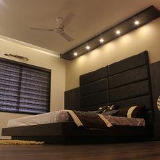Contemporary Bedroom by Mitesh Antala