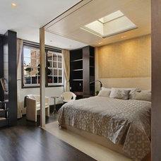 Contemporary Bedroom by VHT Studios
