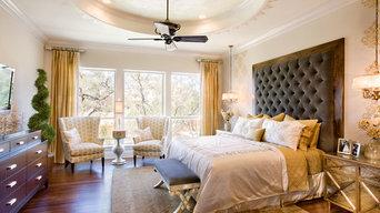 San Antonio Parade Home-Finishing Touches Interior Design